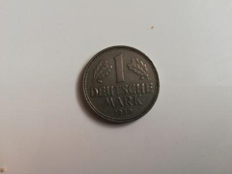 Stare pieniadze. Niemiecka marka z 1950