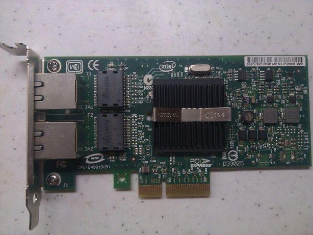 Сетевая карта Intel (R) PRO/1000PT DUAL PORT EXPI9402PTBLK
