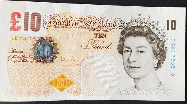 Великобритания 10 фунтов