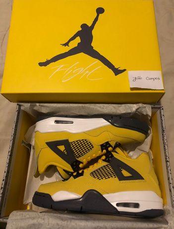 Air Jordan 4 Lightning 36.5
