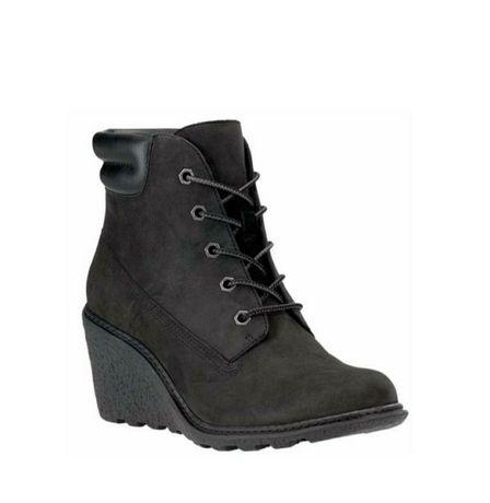 Timberland кожаные ботинки, сапогио ригинал, как новые стелька 23,5