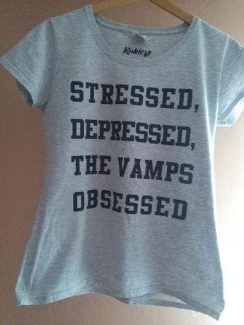Koszulka THE VAMPS szara S