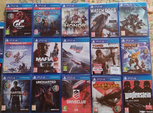 Jogos PS4 Novos/usados como novos