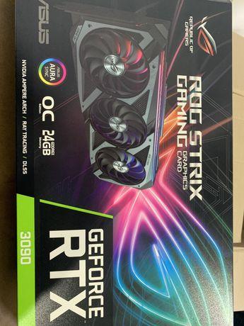 Відеокарта Asus GF RTX 3090 24GB GDDR6X ROG Strix Gaming Майнинг