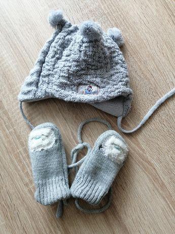 Czapka plus rękawiczki