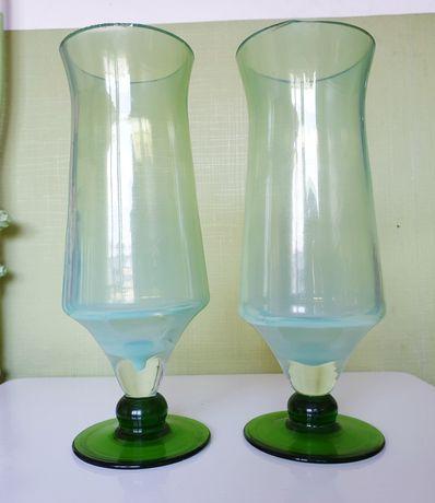 Szkło kolorowe Ząbkowice wazon duch