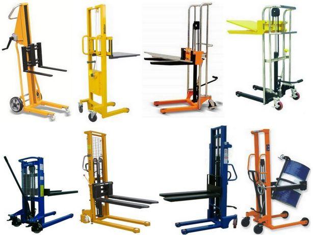 Empilhador / Stacker / Monta-cargas / Empilhadeira / Elevador cargas