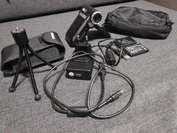 Kamera cyfrowa Toshiba Camileo P10 statyw pokrowce nowa bateria kabel