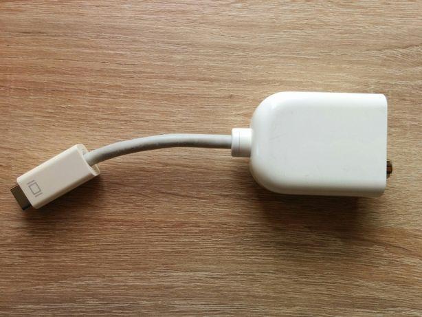 Adapter Przejściówka Apple mini-DVI s-video RCA TV Macbook Telewizor