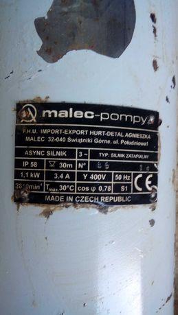 Czeska pompa do studni głębinowej MALEC!!NOWA!!25m kabel