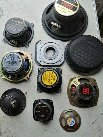 sprzedam różne głośniki kolumnowe, samochodowe  10-100 wat 4