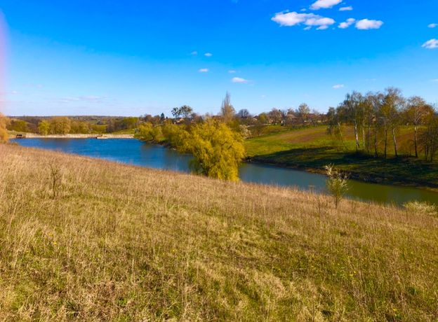 Ділянка біля ставка Біла Криниця