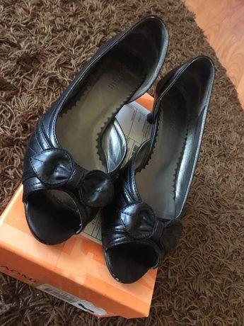 buty bez palców na obcasie  kaczuszka Naomi