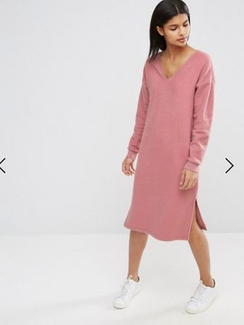 Платье свитер asos