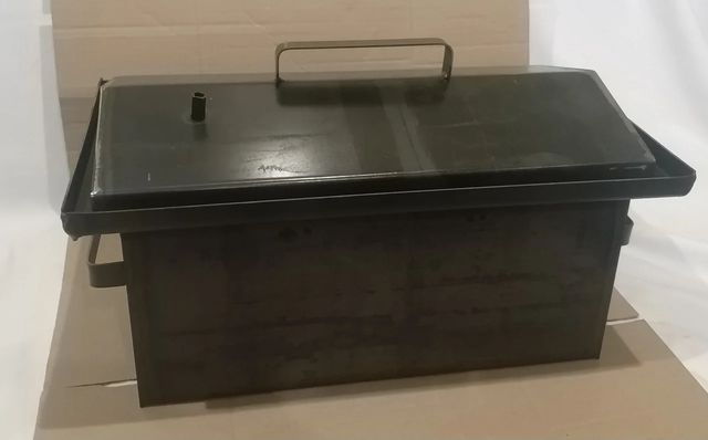 Коптильня горячего копчения (сталь) с гидрозатвором