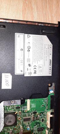 Продам ноутбук на запчасти MSI MS-1682