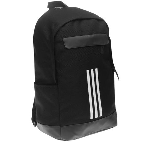 Рюкзак Adidas Classic 3 Stripes Backpack Black Оригинал Городской