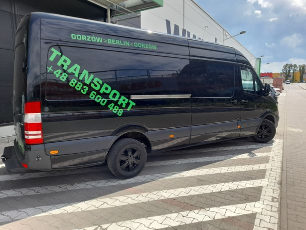 Transport Bus Max Gorzów i okolice Krajowy i Zagraniczny Berlin