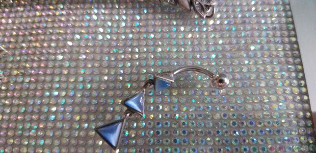 Серебро пирсинг новый