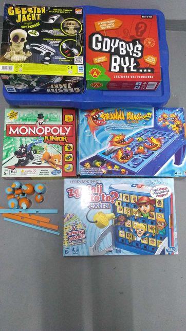 Gry planszowe zestaw 6 gier