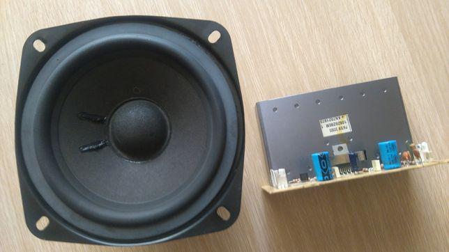 To wszystko Głośnik niskotonowy + wzmacniacze (moduły) sprzedam OPIS