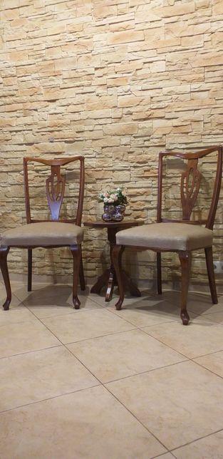 Dwa Krzesła Ludwikowskie