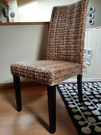 4 cadeiras de sala em verga (praticamente sem uso)