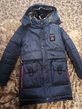 Парка на подростка, куртка, зимняя одежда