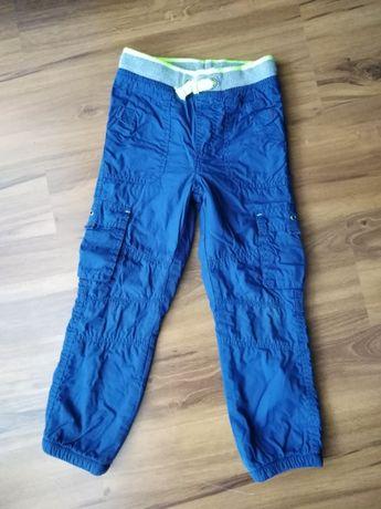 Spodnie ocieplane Smyk rozm. 122 cm