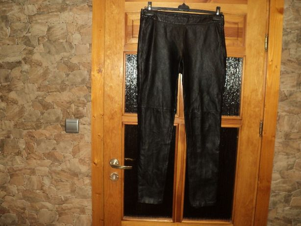 Spodnie skórzane rozmiar Xl