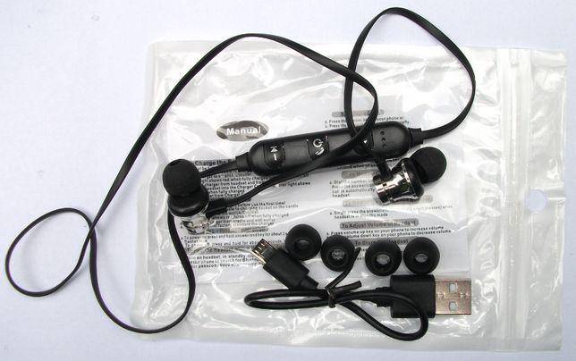 Słuchawki Stereo Sportowe Bluetooth 4.2 Uniwersalne