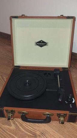 Gramofon w stylu retro LP USB auna  Jerry Lee
