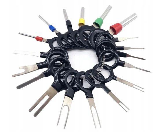 Klucze wyjmaki do wyciągania pinów zestaw 18 szt