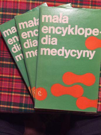 Mała encyklopedia medycyny, tom 1,2 i 3