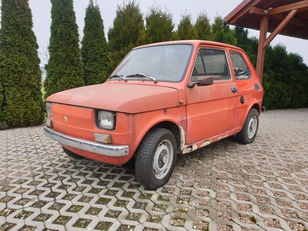 Fiat 126 Steinwinter, dwusuw, Rarytas, Fiat 125, Garbus