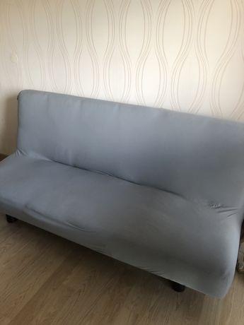 Sofá cama usado Tecido em mau estado