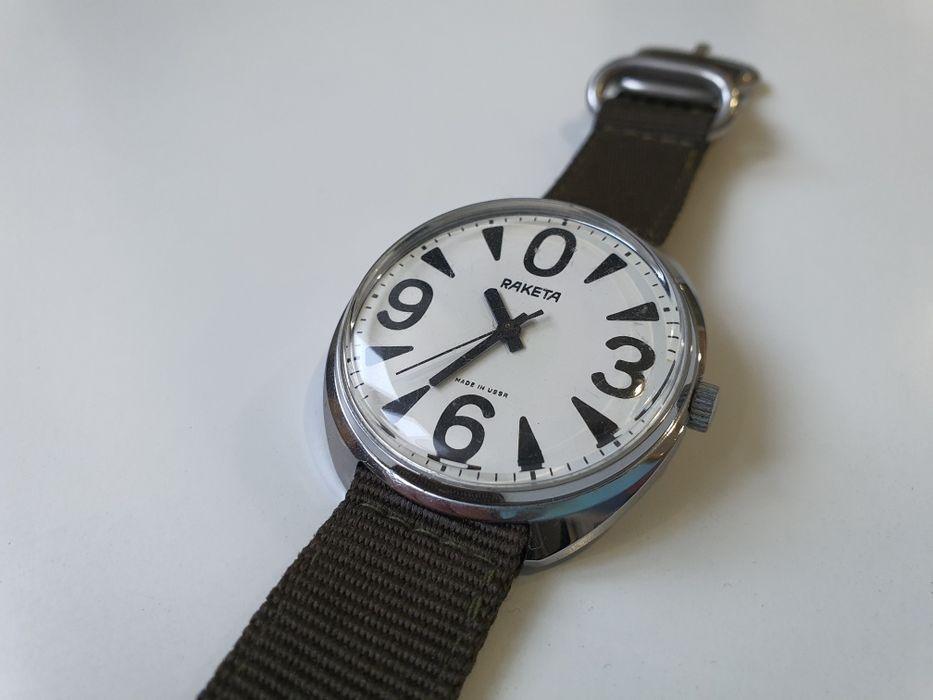 Zegarek RAKETA, made in USSR, big zero Bystrzyca Kłodzka - image 1
