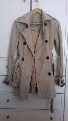 Trench coat Gabardine Zara Woman