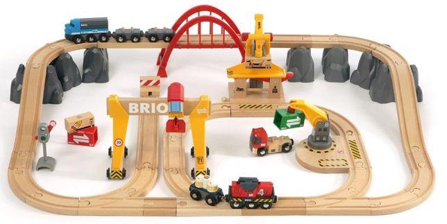 """Brio (Брио) 33097 деревянная железная дорога """"Грузовой Терминал"""""""