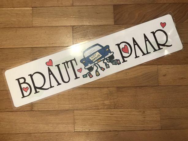 "Napis ""Brautpaar"""
