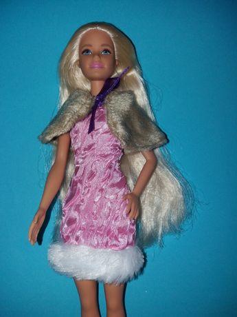 Ubranka dla lalki Barbie sukienka peleryna