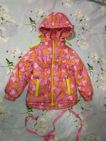 Куртка курточка осенняя демисезонная,рост 104-110см