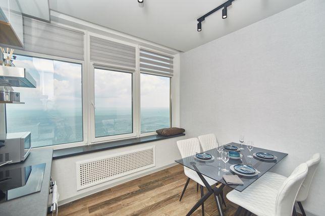 2-х комнатная квартира с панорамным видом на море. Аркадия