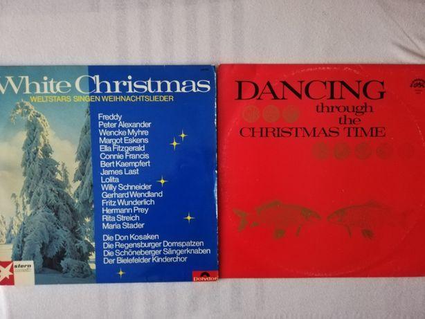 4 płyty -Melodie świąteczno-karnawałowe na znakomitych płytach winylow