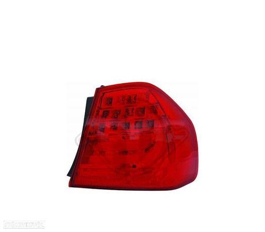 FAROLIM LED DIREITO EXTERIOR / BMW SERIE3 E90 / 08-11 VERMELHO
