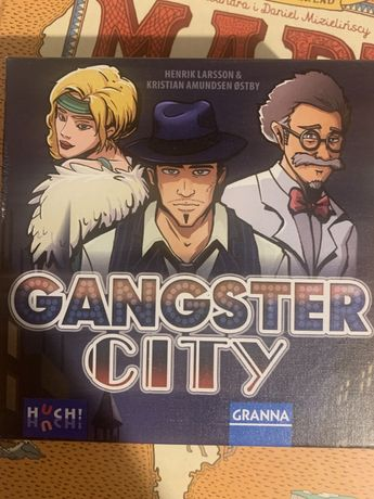 Gra planszowa Gangster City