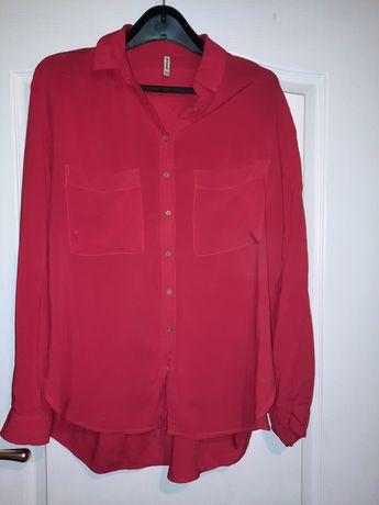 Czerwona bluzka koszula  42/44