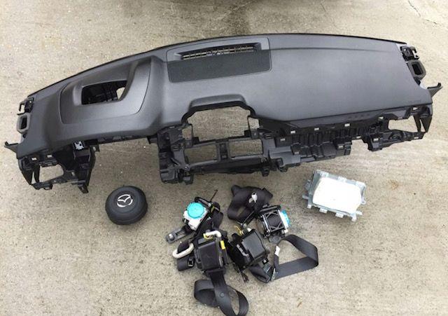 Mazda CX5 tablier cintos airbags