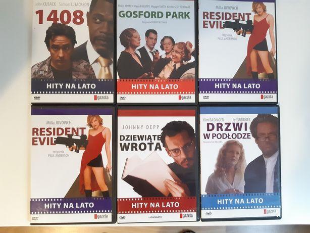Filmy na DVD serii Hity na lato.