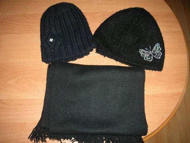 Szalik i czapki 2 szt